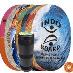 Indoboard Original con rullo - Colorate - rabbit-hole-blue