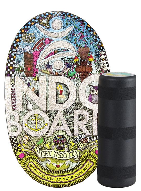 Indoboard Doodle con rullo