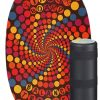 Indoboard Original con rullo - Colorate - rabbit-hole-purple